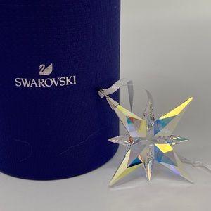 Swarovski Star Ornament AB Small